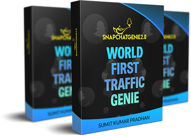 Snapchat Genie 2 World First Traffic Genie