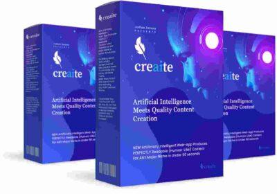 Creaite -Artificially Intelligent Web-App